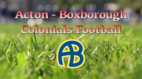Colonials Football @ CC week 3 9/23/16
