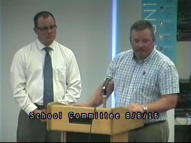 School Commitee Meeting 8/8/16