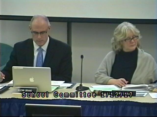 School Committee Meeting 1/12/17