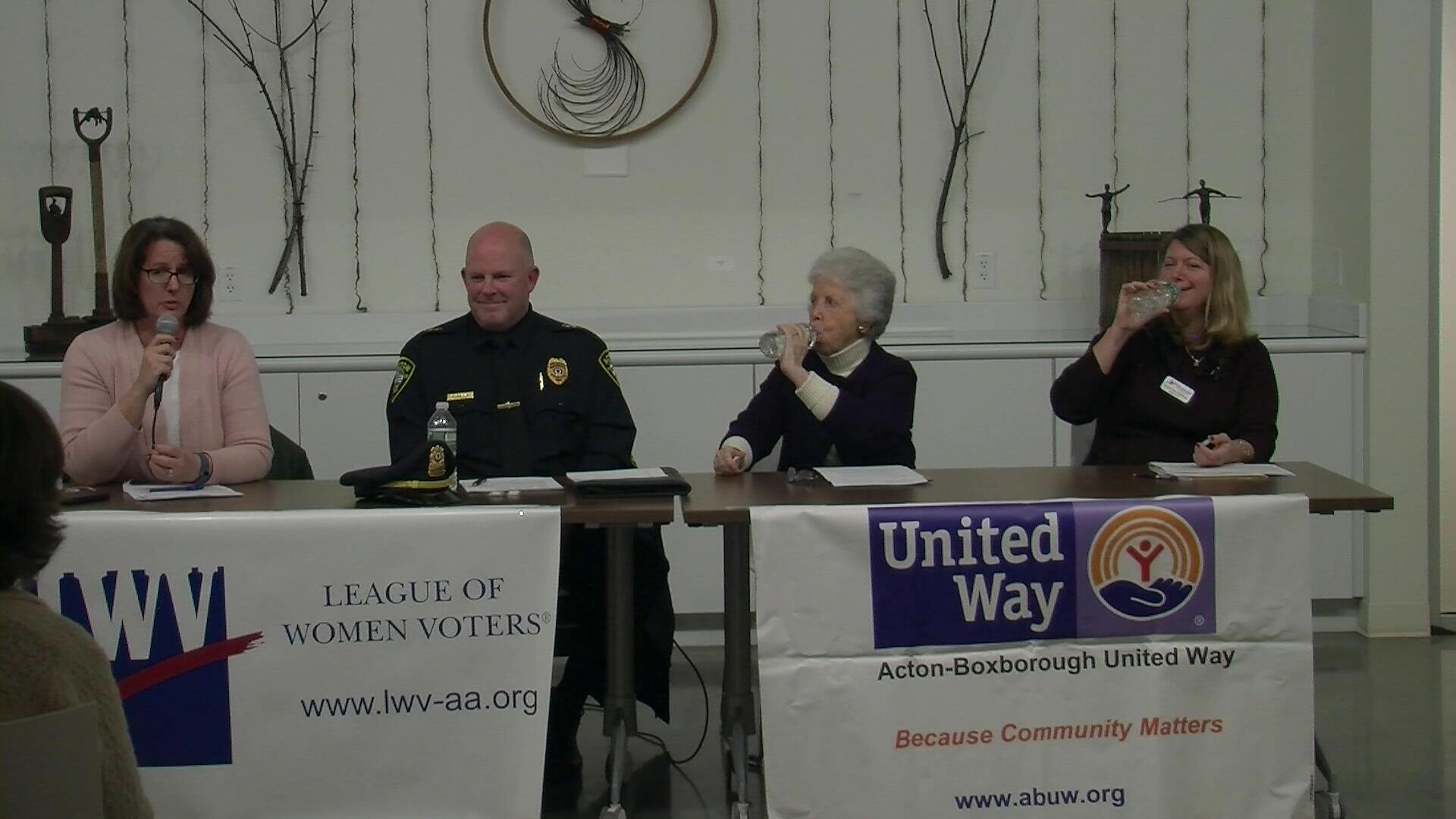 League of Women Voters United Way Seniors Caregiving Panel 1∕17∕17