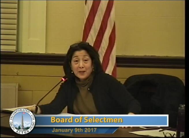 Selectmen Meeting 1/9/17