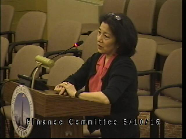 Finance Committee Meeting 5/10/16